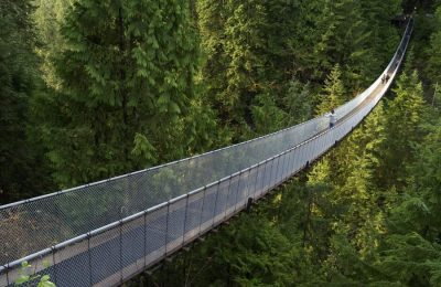 Lynn Valley Suspension Bridge Baden Powell Hike