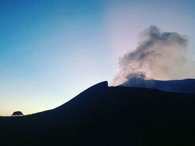 Subida Al Volcan Telica, 1060m. Nicaragua.