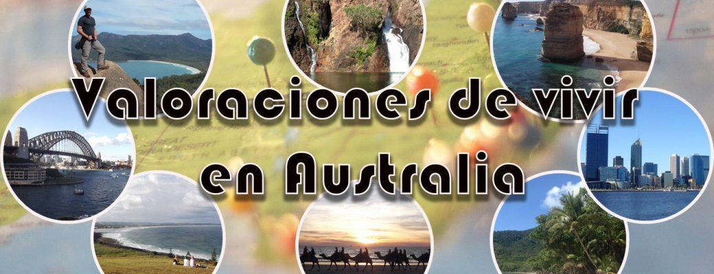 Valoraciones De Vivir En Australia