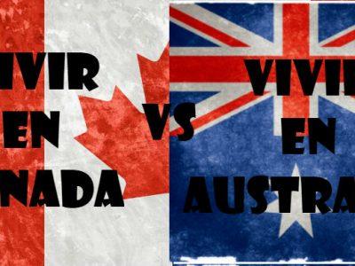 Vivir En Canada O Vivir En Australia. Similitudes Y Diferencias.